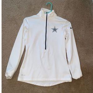 Dallas Cowboys half zip